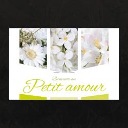 Carte Jeso Triple par 10 Bienvenue Petit Amour