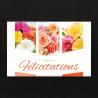 Carte Jeso Triple par 10 Sincères Félicitations