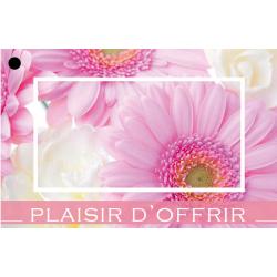 PLAISIR D'OFFRIR - Carte Jeso Brillant Gold X par 10