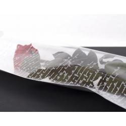 DEDICATION - Etui à Rose L16 x H80 cm par 100 Blanc