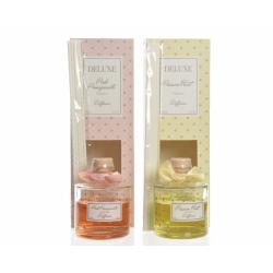 GALA - Diffuseur Parfum Verre Grenade Rose D7,6 x H23 cm