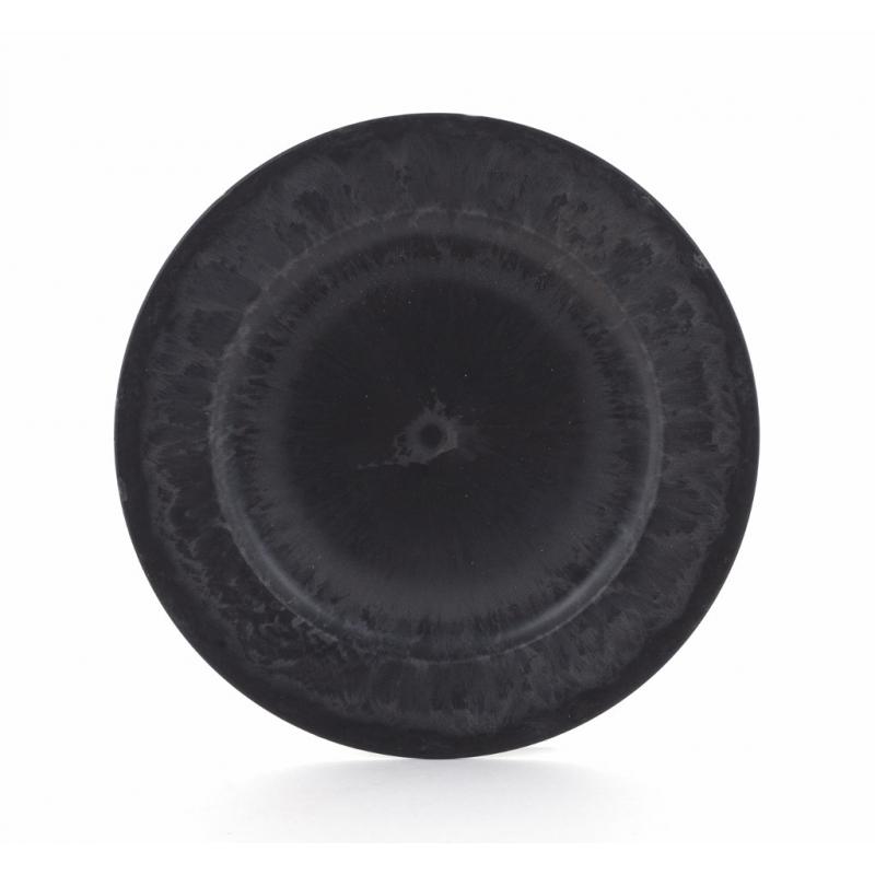 Assiette Plastique Gris d 20 cm