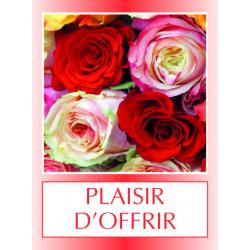PLAISIR D'OFFRIR - Etiquettes Voeux Tendresse par 500