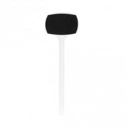 Etiquette Plastique Blanc Ardoise 25cm par 10