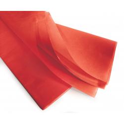 PAPIER DE SOIE - Rame de 240 feuilles 50 x 75 cm Rouge