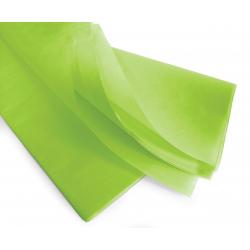 PAPIER DE SOIE - Rame de 240 feuilles 50 x 75 cm Vert Anis