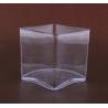 Contenant Cube PVC Transp 100x100x100