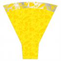 Cone 54x44x12 Fantasia Jaune par 50