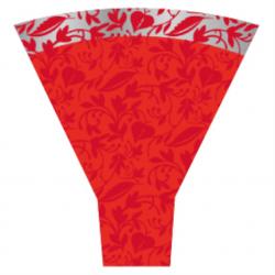 FANTASIA - Cone Polypro 54 x 44 x 12 par 50 Rouge