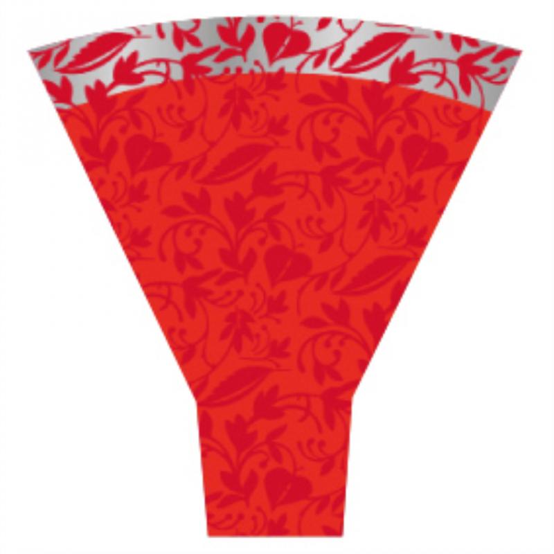 Cone 54x44x12 Fantasia Rouge par 50