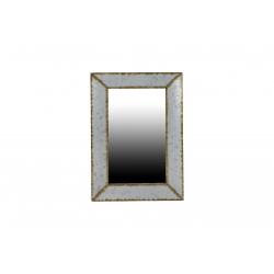 ETAN - Miroir Métal Naturel L52 x P35,5 x H2,5 cm