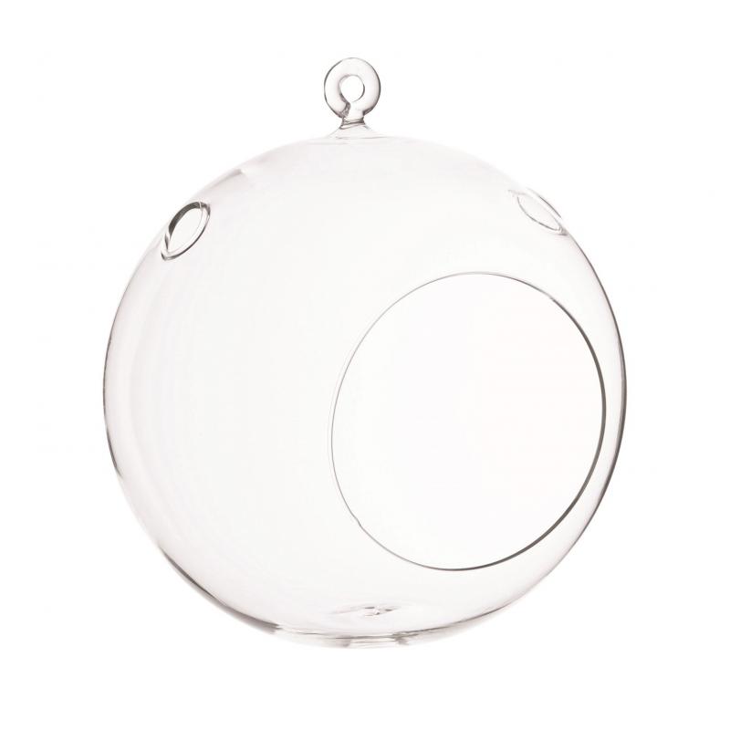 BALL - Boule Verre à Suspendre D14 x H16 cm