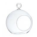 BALL - Boule Verre à Suspendre D8 x H9 cm