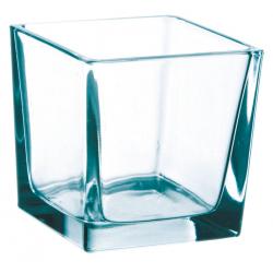 Cube verre 10x10 H10 par 6