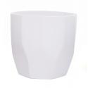 DIAMA - Cache-Pot Orchidée Blanc D14 x H13 cm