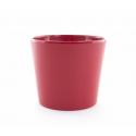 Cache-pot d 19 h 17 cm Rouge par 4