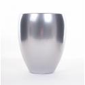 Vase Rian d16 h19 cm Argent par 2