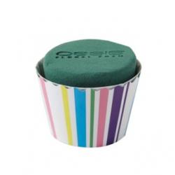 Cupcakes Rayures Intenses PM par 6