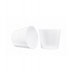 IVA - Cache-pot D17.2 x H15 cm par 4 Blanc