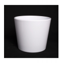 Cache-pot d 17.2 h 15 cm Blanc par 4