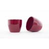 Cache-pot Poinsettia d15.5 h13.5 cm Rouge par 6
