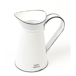 KANA - Broc Zinc Blanc D11 x H19 cm