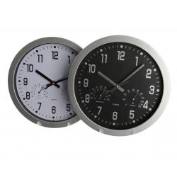 TIC - Horloge Cadran Blanc ou Noir D29 x E4 cm