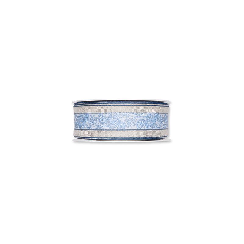 """Ruban Tissu""""Tendrills"""" 37mmx15m Bleu"""