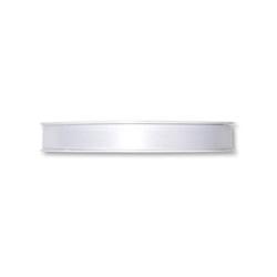 Ruban Satin 10mm x 25 m Blanc