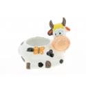 DINO - Pot Céramique Vache L15 x P11 x H13,5 cm