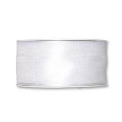 Ruban Organza 40mmx25m Blanc