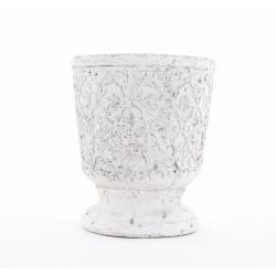 WADI - Pot Médicis Céramique Blanc D18,5 x H21,5 cm