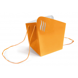 ALAGOS - Sac Medium D15 cm Par 10 Orange