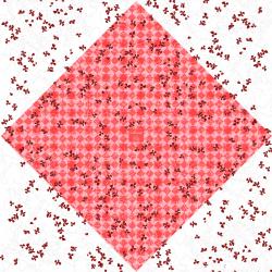 ALICE - Bulle Carré Rouge 0.7x40m