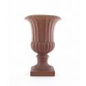 LIBIA - Vase Medicis Fibre Rouille D36 x H52 cm