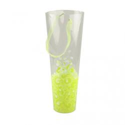 "Tube Muguet 35x12x8 ""Myra"" Lime (x10)"