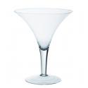 Vase Verre Martini D25 x H29.5 cm