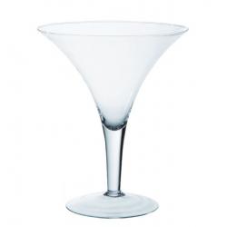 MARTINI - Vase Verre Martini D25 x H29.5 cm
