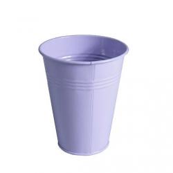 Pot zinc Muguet d6.2 h12.2 cm Lilas par 20