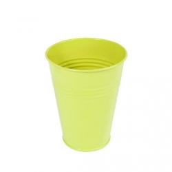 LILY - Pot zinc Muguet D6.2 x H12.2 cm par 20 Vert Anis