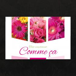 COMME CA - Carte Jeso Triple par 10