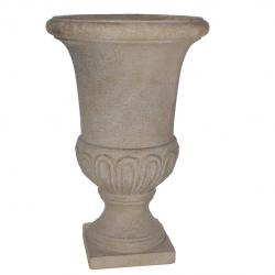 BRENDA - Vase Medicis Fibre Beige D55 x H85 cm
