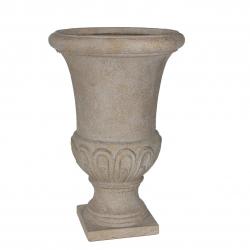 BRENDA - Vase Medicis Fibre Beige D42 x H64 cm