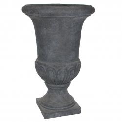 BRENDA - Vase Medicis Fibre Gris D55 x H85 cm