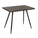 EVY - Table Rectangle Fer Bronze -L50 x P30 x H40 cm