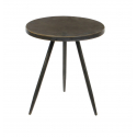 EVY - Table Ronde Fer Bronze D35 x H40 cm