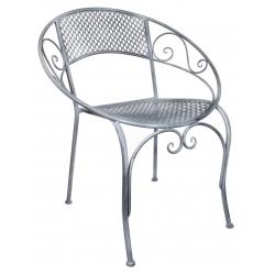 CASSIS - Chaise Fer Grise L65,5 x P57 x H76 cm
