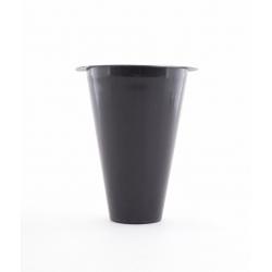 Vase conique H.14.8 D.9.8+Mousse