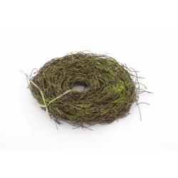 SALIM GARLAND - guirlande de bois naturel L460 cm