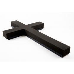 Croix Mousse Eychenne Noire 120cm par 2